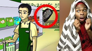 Gambar cover Reacting To True Story Scary Animations (Do Not Watch Before Bed)