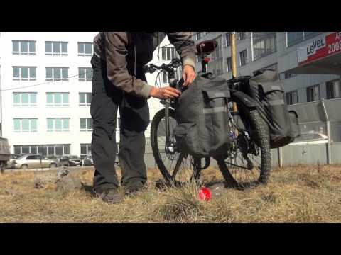 Велосипедная сумка собственными руками