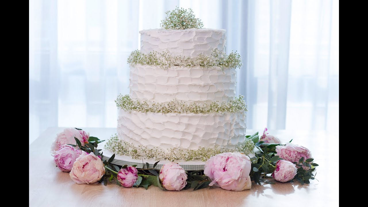 Mariage Wedding Cake Facile A Realiser Youtube