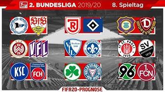 FIFA 20: Spieltag 8 - Saison 2019/20 l 2.Bundesliga - Prognose l Deutsch [HD]