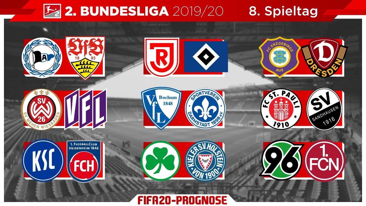 Fifa 20 Spieltag 8 Saison 2019 20 L 2 Bundesliga Prognose L Deutsch Hd