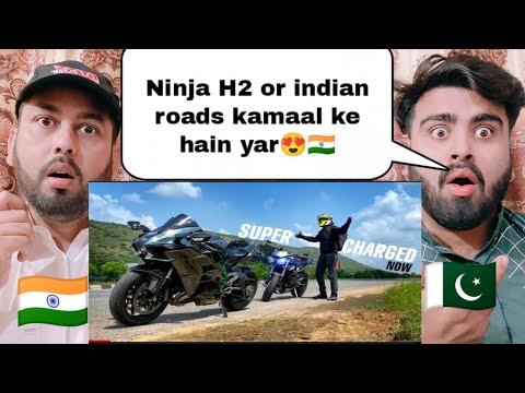 First Road Trip On Ninja H2 In India | JS Films | Shocking Pakistani Reaction |