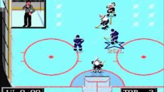NHL 94- Toronto Maple Leafs vs. Los Angeles Kings