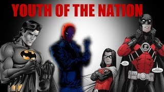 Youth of the Nation || Dick+Jason+Tim+Damian (Bat Family)