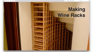Making Wine Racks