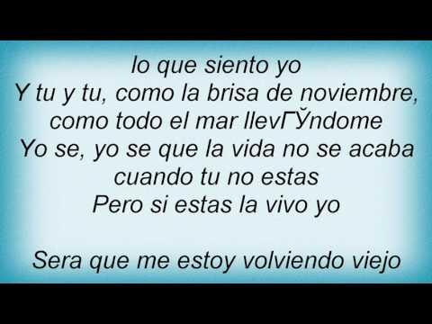 Bacilos - Viejo Lyrics