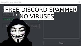 How to create discord tokens for raiding by spamisfun