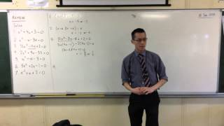 5.3 Quadratics: Quick Questions #3