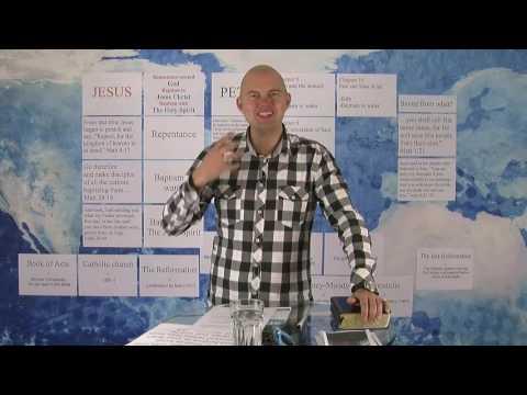"8 урок ""Как делиться Евангелием"" - Торбен Сондергаард."