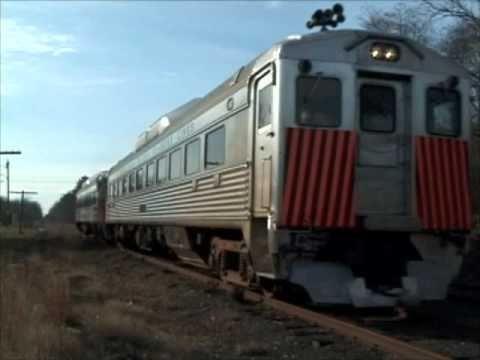 Cape May Seashore Lines Santa Express with Budd RDC units