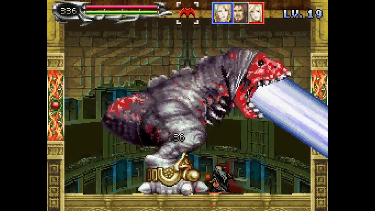 Castlevania Dawn Of Sorrow Julius Mode Alucard Only All Bosses No Damage Youtube