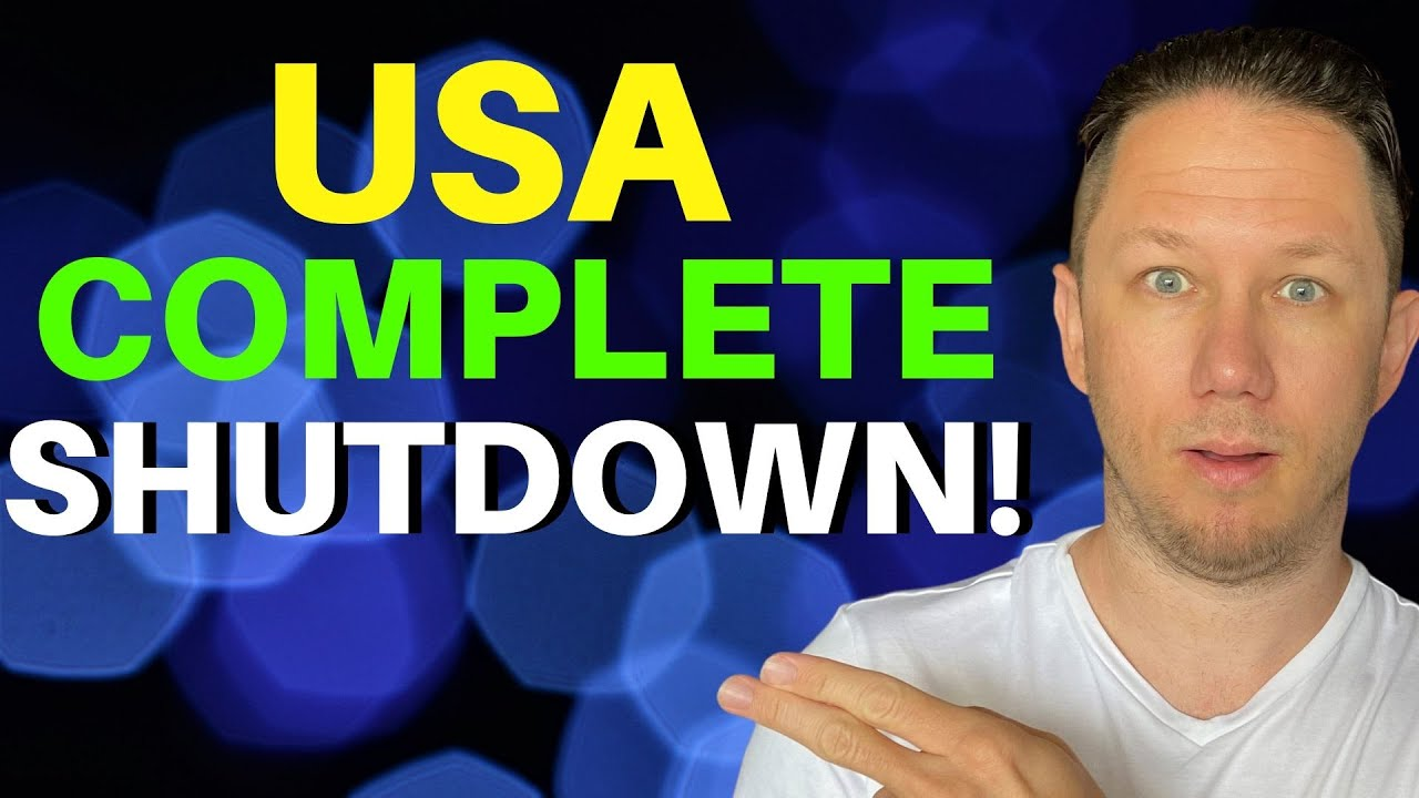 U.S. Going into Total Shutdown Again!