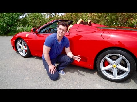 Gated Manual Ferrari 360 Spider Review!