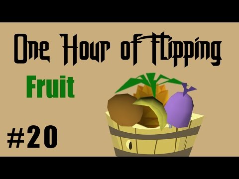 [OSRS] How I Made 260k in 1 Hour of Flipping Fruit only!  [Episode #20]