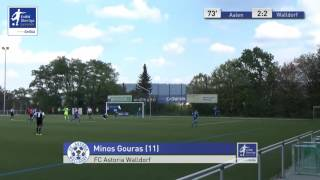 A-Junioren - VfR Aalen vs. FC Astoria Walldorf 2:2 - Minos Gouras
