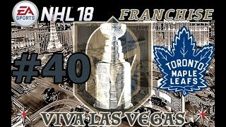 """NHL 18: Vegas Golden Knights Franchise #40 """"STANLEY CUP"""""""