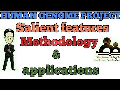 Methodology , salient features and applications of human genome project.