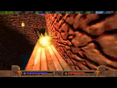 Exhumed 100% speedrun in 1:15:46(Powerslave EX pc port)