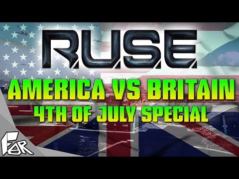R.U.S.E. Multiplayer Gameplay ➤ Fighting For Our Independence.. Again!