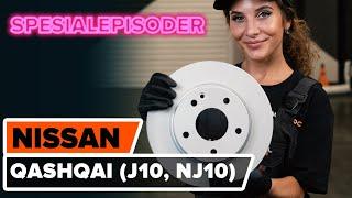 Montering Baklykter venstre og høyre NISSAN QASHQAI / QASHQAI +2 (J10, JJ10): gratis video