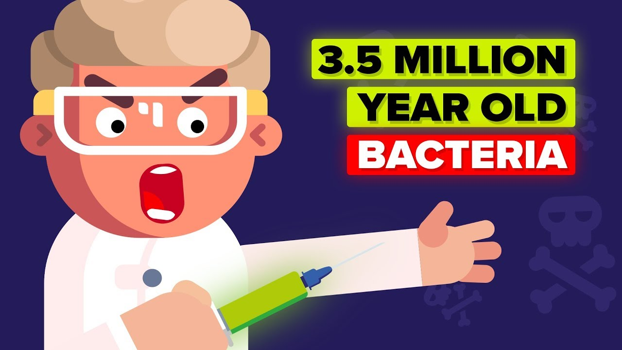 Why Would a Scientist Inject Himself with 3.5 Million Year Old Bacteria?