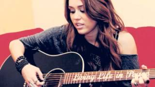 Miley Cyrus - We Can't Stop (Acoustic Instrumental)