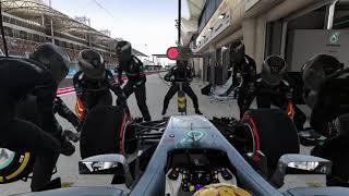 F1 2017 Hamilton´s bad luck (PART 1)