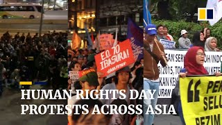 Hong Kong, the Philippines and Indonesia mark International Human Rights Day