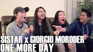 SISTAR x Giorgio Moroder- One More Day (Reaction Video)