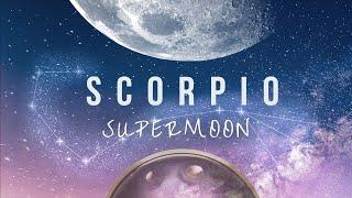 Hang Drum & Gongs Meditation ♏ Deep TransformatioN - Full SuperMoon in Scorpio  [April  27 2021]