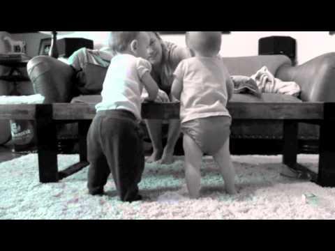 Jordan and Amelia 10 Months