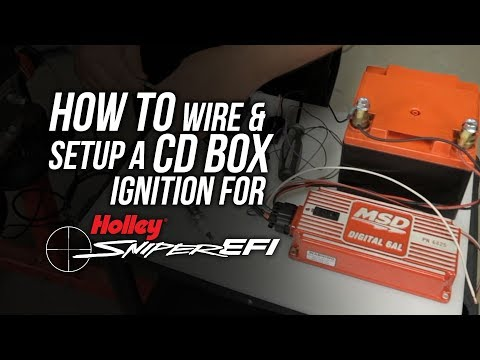 Sniper EFI: How To Wire And Setup For A CD Box Ignition on