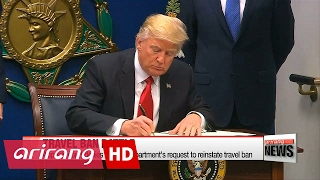 U.S. appeals court denies request to restore Trump's immigration ban