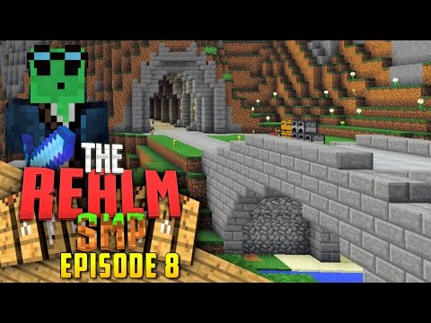 Minecraft PE Realms SMP - Ep.8 : Dallas's Laboratory!