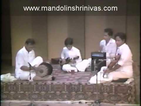 Mandolin Sri U. Shrinivas ji playing the krithi Nadaloludai