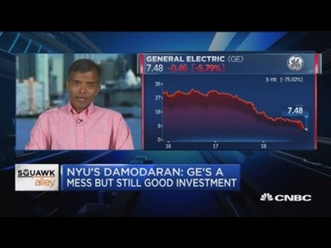 GE is a buy but with a 'strong stomach,' says Wall Street's 'dean of valuation