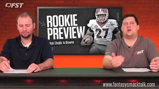 Nick Chubb Rookie Running Back Preview - 2018 Fantasy Football