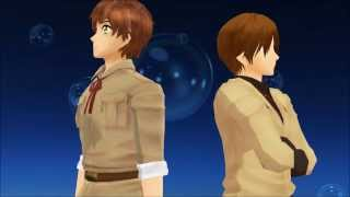 MMD Hetalia Anything You Can Do I Can Do Better Spamano Spain And Romano
