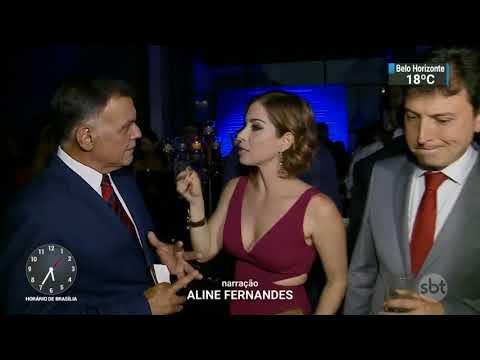 Neila Medeiros recebe prêmio de melhor apresentadora de TV   SBT Notícias (11/11/07)