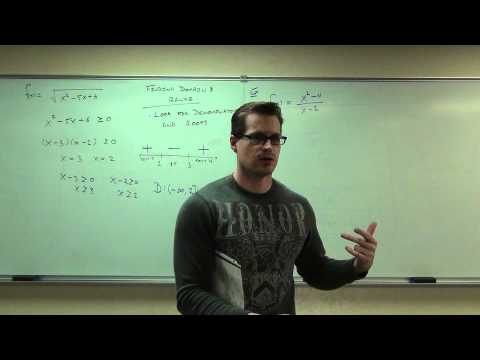 Calculus 1 Lecture 0.2:  Introduction to Functions.