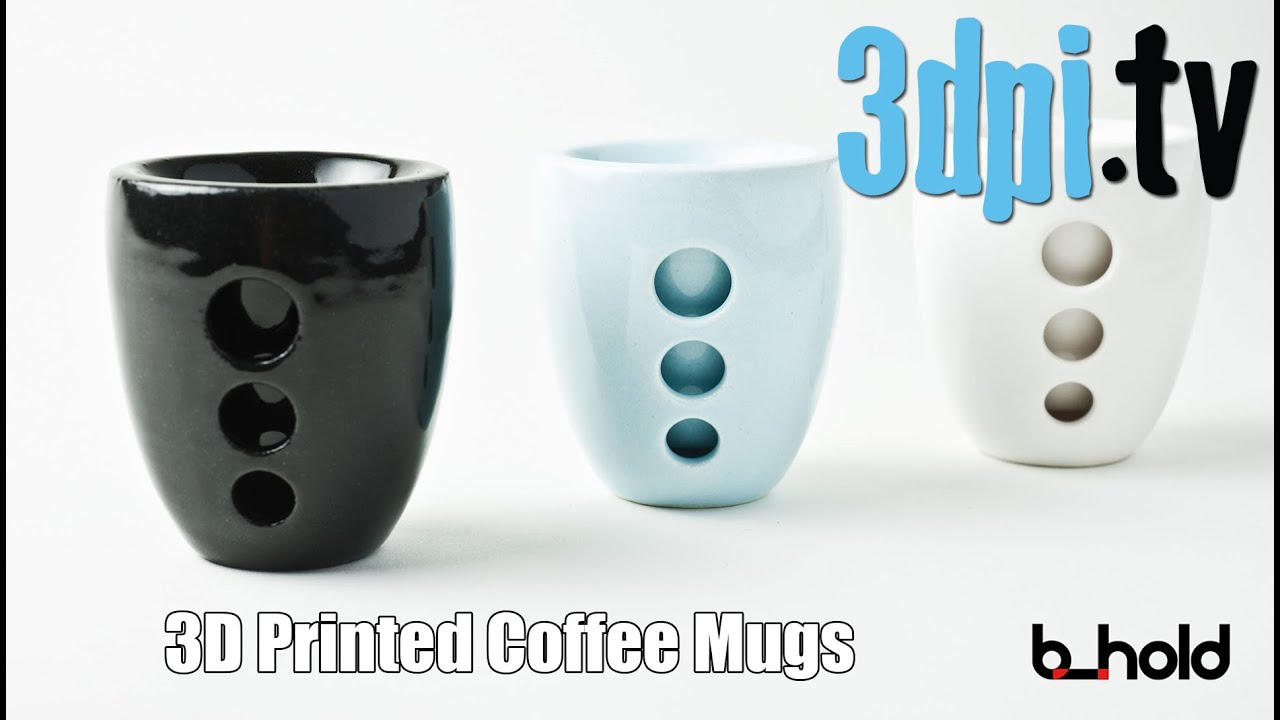 The Future of Coffee Mugs with 3D Printing