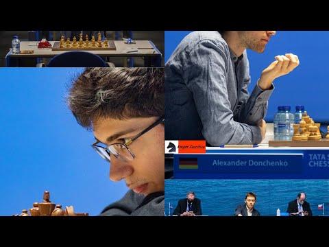 Tata Steel Masters 2021 round 03,GM #Carlsen_Magnus (NOR) VS GM #Tari_Aryan (NOR)