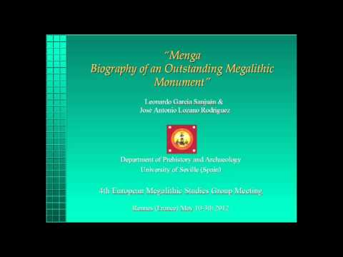 Menga: Biography of an outstanding megalithic monument by Leonardo Garcia Sanjuan