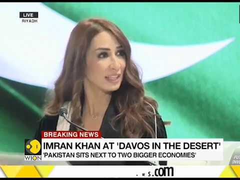 Pakistani Prime Minister Imran Khan speaks at Saudi Business forum