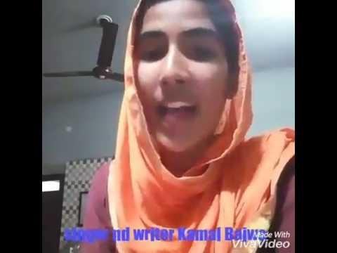 New Reply To Ishqan De Lekhe | Sajjan Adeeb | By  Young Punjabi Girl