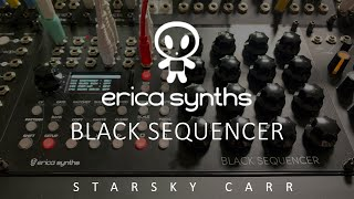 Erica Synths Black Sequencer Review and Demo