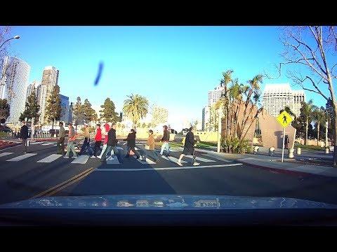 San Diego, California / dash cam /Сан-Диего