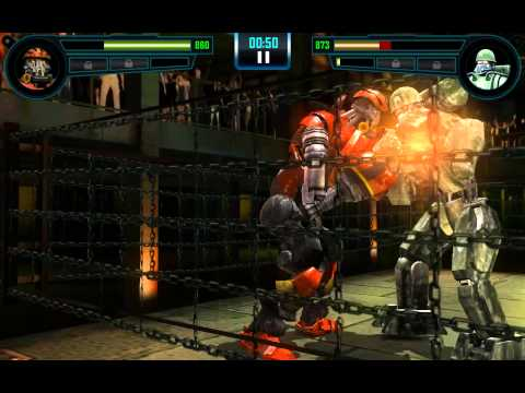 Real Steel WRB Gambit VS Sarge NEW UPDATE (Живая Сталь)