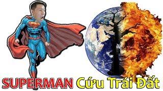 SLENDERMAN LẦN ĐẦU LÀM SUPERMAN(SIÊU NHÂN) GIẢI CỨU TRÁI ĐẤT