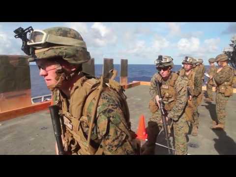Marine Scout Sniper Platoon Target Practice